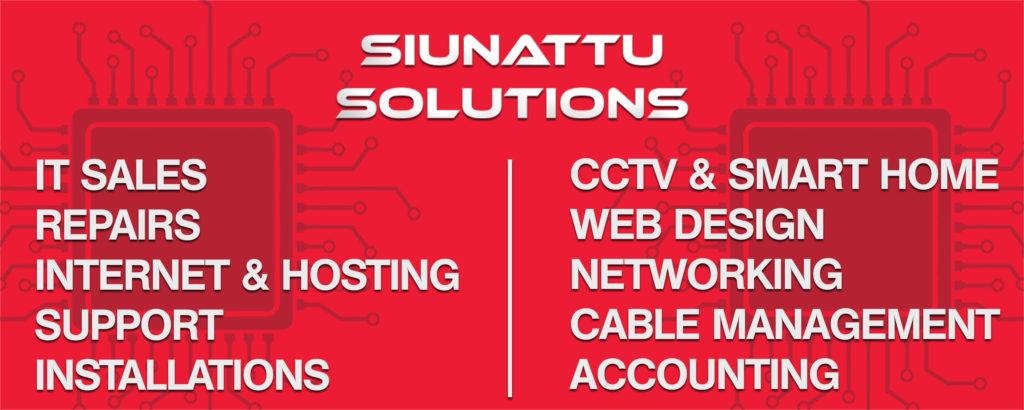 Siunattu Solutions Banner
